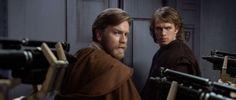 *OBI-WAN KENOBI (Ewan Mc Gregor) & DARTH VADER/ANAKIN SKYWALKER (Hayden Christensen) ~ Star Wars: Episode III - Revenge of the Sith (2005)