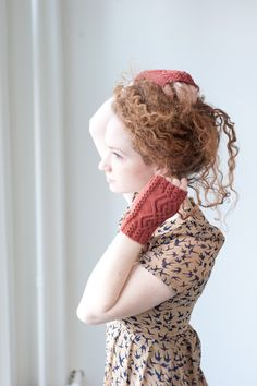 morganeve's mitts - Quince and Co Crochet Gloves, Knit Crochet, Hand Knitting, Knitting Patterns, Crochet Patterns, Yarn Inspiration, Granny Chic, Knit In The Round, All Fashion