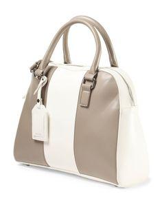 Kensie colorblock satchel in taupe - TJMaxx
