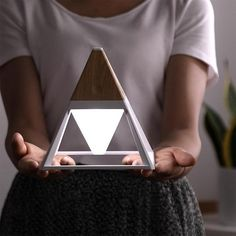 This Pyramid Lamp is beautifully made and is guaranteed to make a wonderful addition to your home. This lamp is waterproof and works via a usb cable so you can use it indoors or on an outdoor adventure as well. Man Cave Lighting, Quiet Moments, Bedside Lamp, Unique Lighting, Program Design, Natural Light, Light Colors, How Are You Feeling, Lightning
