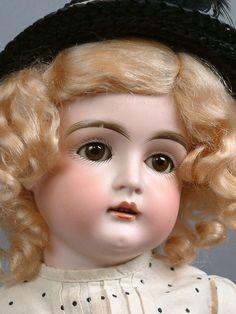 """RARE 16"""" Kestner 129 Antique Doll G A Schwarz Philidelphia Stamp Excelsior Body!"""