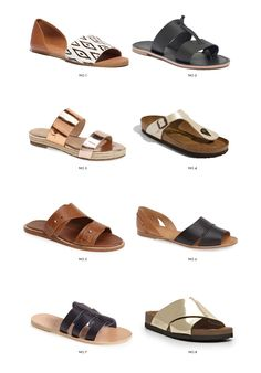 Slip-on Pool Sandals from $60 to $200 | KittyCotten.com