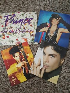TOUR BOOKS: Prince and the Revolution 1984-85 World Tour, LoveSexy tour 1988, Prince and the New Power Generation Act 1 tour, and Musicology tour 2004