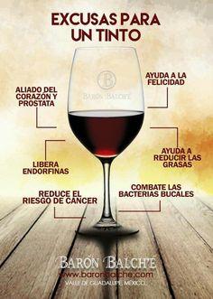 menú de vino blanco o rojo de próstata