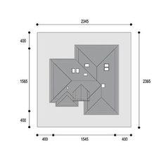 DOM.PL™ - Projekt domu DPS Nebraska CE - DOM DPS1-29 - gotowy koszt budowy Nebraska, Sweet Home, Floor Plans, House Design, How To Plan, Ghana, Sea, Home Decor, Arquitetura