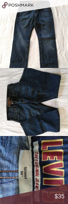 1ad5a961 Leví's 511 jeans blue W30 L30 Good condition Levi's Jeans Skinny.  Heartandhomeoverhual · My Posh Picks · Levi's Denim Shorts ...