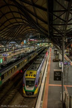 Southern Cross Station, Spencer St - Melbourne - Australia - by Matty Senior Melbourne Australia, Australia Travel, Melbourne Tourism, Vic Australia, Melbourne Victoria, Victoria Australia, Locomotive, Australian Continent, Trains