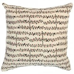 Black and Red Espalier Cushion