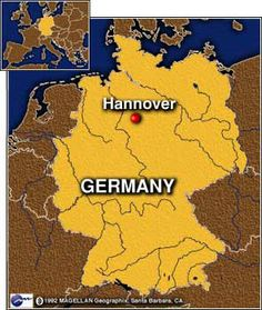 Map: Hannover, Germany