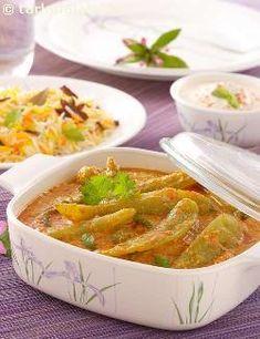 Mirchi Ka Salan (Hyderabadi Style) recipe | Roti Recipes | Subzi Recipes | by Tarla Dalal | Tarladalal.com | #268