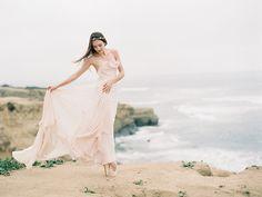 Romantic Ballerina shoot by the sea I Via Magnolia Rouge