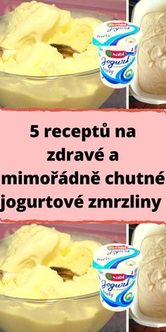 Czech Recipes, A Table, Cereal, Snack Recipes, Food And Drink, Ice Cream, Drinks, Cooking, Breakfast