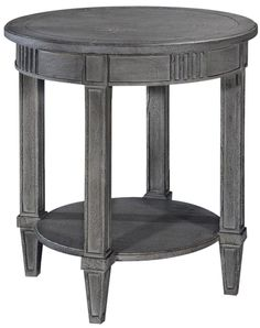 Lamp Table San Maria Louis XVI French Weathered Gray Solid Wood #Furniture #SolidWood #LampTable #LouisXVI San Maria, Lamp Table, Louis Xvi, Furniture Decor, Solid Wood, Stool, French, Gray, Home Decor