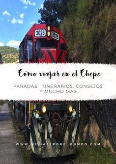 Cómo viajar en el Chepe - Guía de viajes México - Viajar en tren - Consejos de viaje Travel And Tourism, Travel Tips, Places To Travel, Places To Visit, Visit Mexico, Safe Haven, Train Travel, Travel Essentials, Adventure Travel