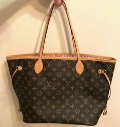 aeb33ff67670 Authentic Louis Vuitton Monogram Neverfull MM Rose Ballerine Pink Handbag   fashion  clothing  shoes