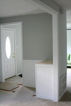 Wall color Benjamin Moore's Alaskan Husky 1479 gray, taupe, even blue — while remaining neutral Read more: Bedroom Paint Color Ideas - Benjamin Moore Gray Paint - Country Living Paint Colors For Home, Home Remodeling, Home Decor, Bedroom Paint, Paint Colors, Home Deco, Room Colors, Colorful Decor, Bedroom Colors