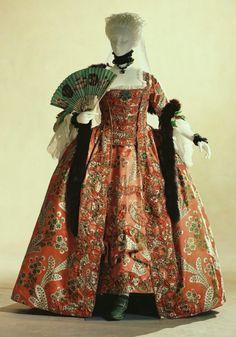 Robe à la Française, 1760