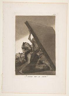 And still they don't go! (Y aun no se van!), from The Caprices (Los Caprichos), plate 59  Goya (Francisco de Goya y Lucientes)