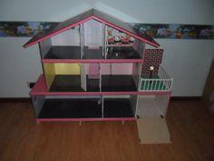 Resultado de imagen de como hacer una casa de muñecas paso a paso