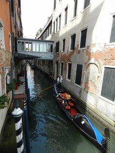 Venice, Gondola ride.