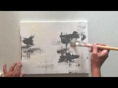 Abstract art tutorial for beginner - YouTube
