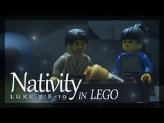 Part of the Christmas story in LEGO! The Shepherds are told of Jesus' birth.