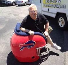 Buffalo Bills Hemet Chair