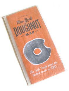 New York Doughnut Map | Neither Fish Nor Fowl