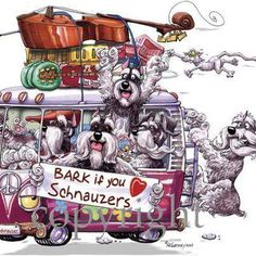Bark if you ♥ Schnauzers!