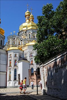 Uspensky Cathedral, Kievo Pechersk Lavra, Kiev, Ukraine