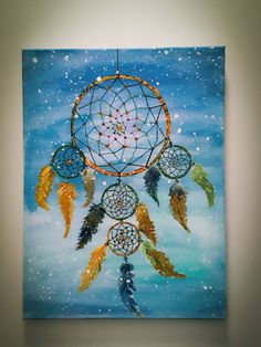 Dream Catcher Paintings - Dream Catcher Painting By Hsin Lin Saatchi Art Dream Catcher Made For Someone Special Acrylic On Canvas Dream Catcher Painting By Imanshu Jain S. Dream Catcher Canvas, Dream Catcher Painting, Dream Catcher Drawing, Dream Catcher Mandala, Dream Catchers, Watercolor Night Sky, Watercolor Art Diy, Acrylic Portrait Painting, Neon Painting