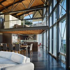 Steel Frame House Design Ideas, Pictures, Remodel, and Decor - page 8