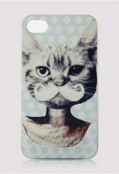 Cat Face with Mustache