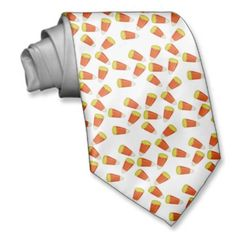 SOLD! sweet Candy Corn Halloween Novelty Necktie from #zazzle on its way to a new home!