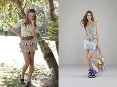 Vogue and Vanity: Moda romântica, retrô e casual.. *