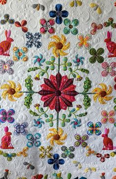 B8   Harriot by Sue Cody for Material Obsession. Applique wo…   Flickr