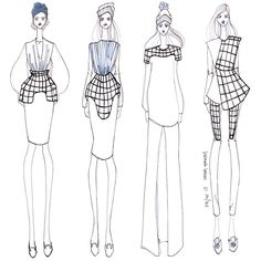 ISSA GRIMM concept sketch #fashionsketch #fashiondesign #fashionillustration