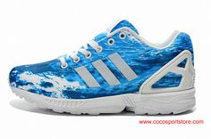 quality design 303c2 f018d Adidas Originals ZX Flux Ocean Waves Shoes For Women Adidas Superstar  Outfit, Adidas Outfit,