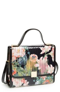 Ted Baker London 'Opulent Bloom' Print Crossbody Bag available at #Nordstrom