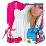 just peachy - Polyvore