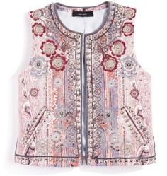 I would wear this Isabel Marant vest every day of my life!