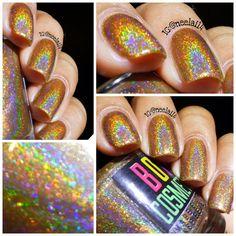 Holographic nail polish holo nail polish I by boiicosmetics