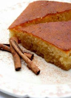 Recipe for Ravani (Semolina cake with syrup)
