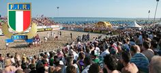 Beachfives fans in Lignano