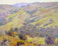 Daniel Aldana. Weir Canyon 16 x 20