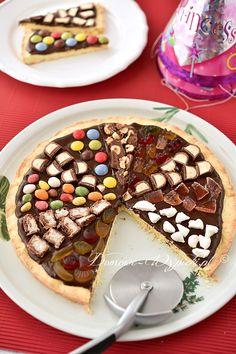 Słodka pizza