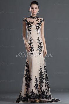 eDressit Gorgeous Black Lace Evening Dress (02120714)