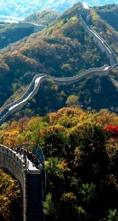 The Badaling Section of the Great Wall of China- want to walk the wholen thing (maybe not all at once)