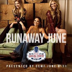 Runaway June has been added to the lineup of entertainment for the Carolina Country Music Festival in beautiful Myrtle Beach, South Carolina! For tickets and more info click on the pin or go to http://www.visitmyrtlebeach.com/things-to-do/events/carolina-country-music-festival/