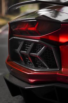 Lambo rear light cluster - could be straight outta Tron!